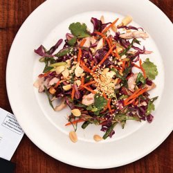 Asian Chicken and Cabbage Salad recipe