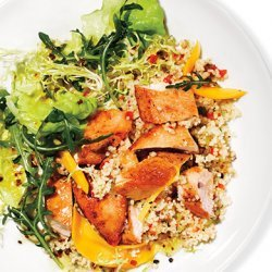 Mango Chicken Salad with Couscous recipe