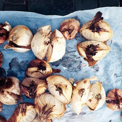 Dry-Roasted Brown Butter Onions recipe