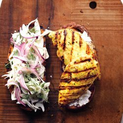 Curried Chicken Sandwich recipe