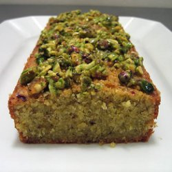 Pistachio Loaf Cake recipe