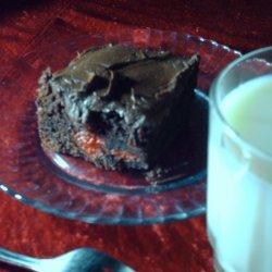 Chocolate Cherry Bomb Cake recipe