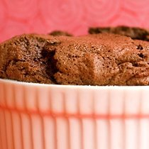 Chocolate Souffle With Blood Orange Creme Anglaise recipe