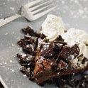 Glazed Chocolate Bundt Cake With Whipped Cream recipe
