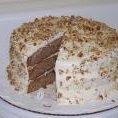 Paula Deens Banana Nut Cake With Cream Cheese Fros... recipe