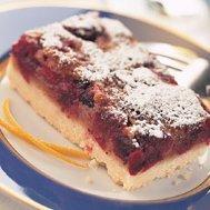 Cranberry Cake Squares recipe