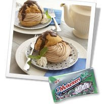 3 Musketeers Mint Chocolate Cream Puffs recipe