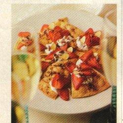 Strawberry Dessert Nachos recipe