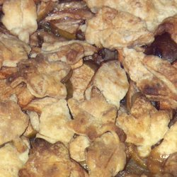 Pie Crust American-style In A Peach Pie recipe