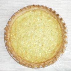 Caribbean Lime Coconut Buttermilk Pie recipe