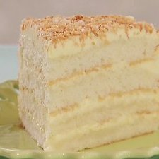 Bobby Flays Throwdowns Toasted Coconut Cake With C... recipe
