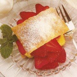 Strawberry Pastries recipe