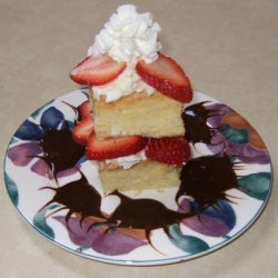 Strawberry Cream Cheese Short Cake recipe