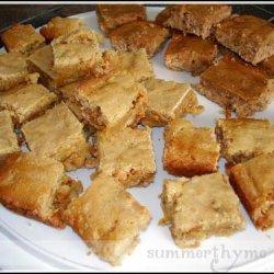 Bettys Butterscotch Brownies recipe