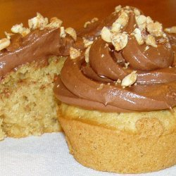 Peanut Butter Cupcakes With Chocolate Frosting recipe