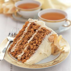 Tropical Carrot Cake With Coconut Cream Cheese Fro... recipe