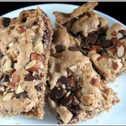 Chocolate Almond Bars Regular And Gluten Free recipe