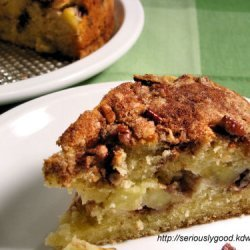 Apple Ricotta Struesel Cake recipe