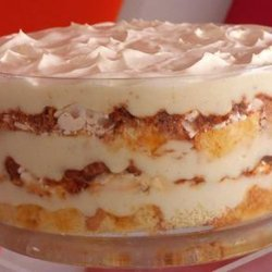 Tropical Fruit And Coconut Trifle recipe