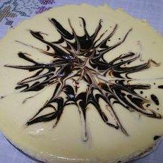 Rayed Chocolate Cheesecake recipe