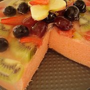 Jelly Fruit Cake recipe