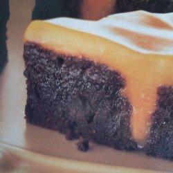 Butterscotch Poke Brownies recipe