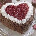 Chocolate Cherry Valentine Torte recipe