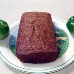 Green Tomato Bread Or Anything Green Bread recipe