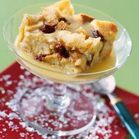 White Chocolate Bread Pudding With Whiskey Sauce recipe
