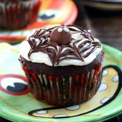 Cobweb Cupcakes recipe