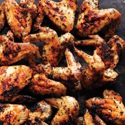 Herb Grilled Chicken Wings recipe