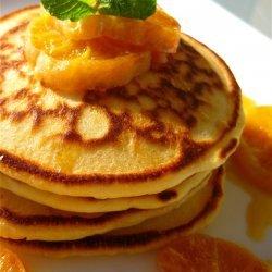 Orange Ricotta Pancakes recipe
