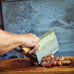 Grilled Pork Chops with Sweet Lemongrass Marinade recipe