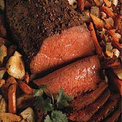 Spiced Roast Beef and Vegetables recipe