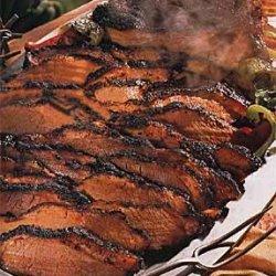 Barbecued Texas Beef Brisket recipe