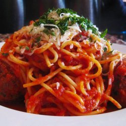 Meatballs with Parsley and Parmesan recipe