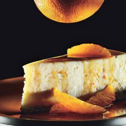 Ricotta Cheesecake with Caramel-Orange Sauce recipe