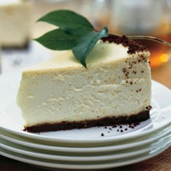 Lemon Cheesecake with Gingersnap Crust recipe