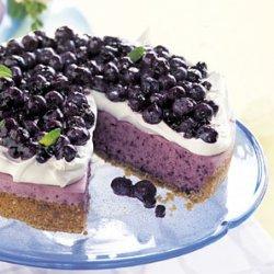 No-Bake Blueberry Cheesecake with Graham Cracker Crust recipe