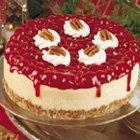 White Chocolate Cherry Cheesecake recipe