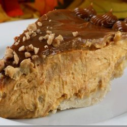 Pumpkin Cheese Pie With Toffee And Caramel Swirl recipe