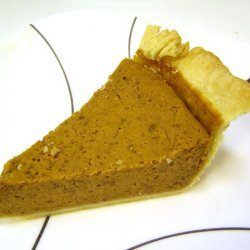 Classic Pumpkin Pie With A Twist recipe
