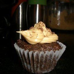 Chocolate Mini Cupcakes With Penuche Frosting recipe