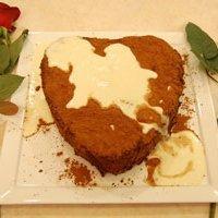 Chocolate Cake With Amaretto Cream recipe