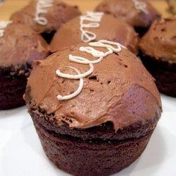 Devils Food Cupcakes With Vanilla Cream Filling recipe