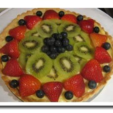 Cream Cheese Tart With Fresh Spring Fruit recipe