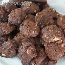 Double Chocolate Walnut Cookies recipe