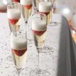 Jelled Champagne Dessert recipe
