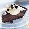 Triple Chocolate Tuxedo Pie With Cappuccino Cream recipe