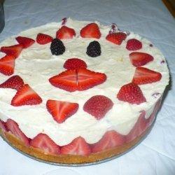 Lemon Poppy Seed Cake With Meyer Lemon Mousse recipe